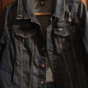 Denim jacket Lane Bryant size 14
